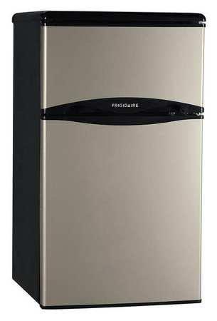 Frigidaire – 3.1 Cu. Ft. Compact Refrigerator – Silver