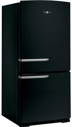 GE Artistry Series 20.3 Cu. Ft. Bottom Freezer Refrigerator Black