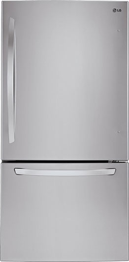 LG - 23.8 Cu. Ft. is an example of bottom freezer refrigerator